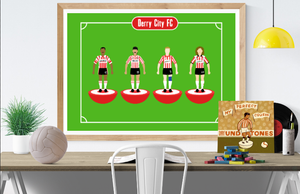 Derry City FC Subbuteo Legends