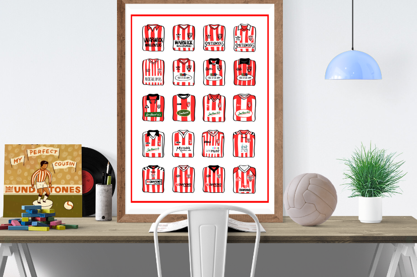 The History of Derry City FC Shirts