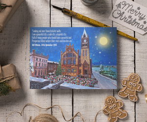 Derry Christmas Greetings Card: Derry Christmas Guildhall