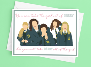 Derry Girls Greetings Card