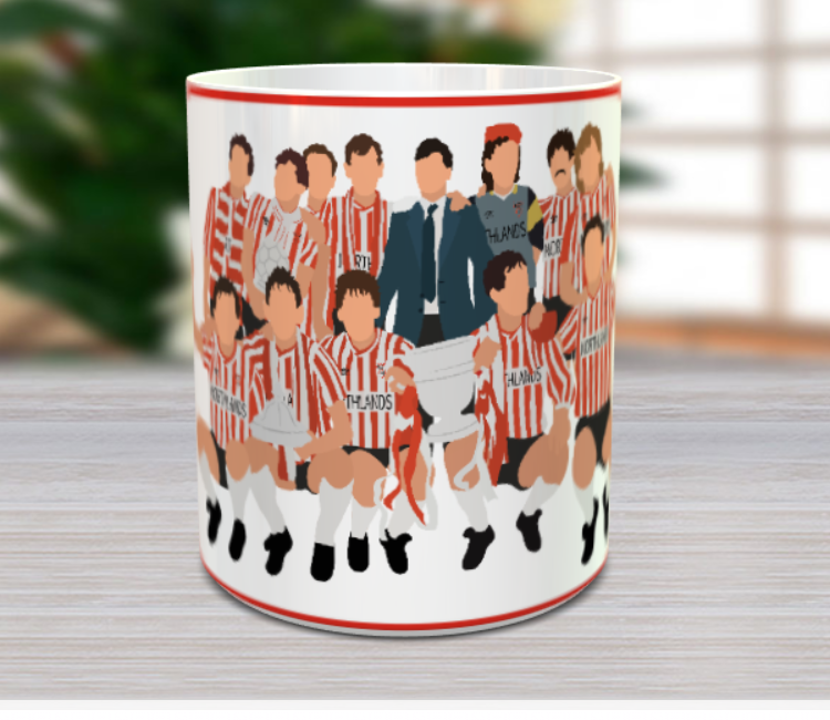 Derry City FC 1989 Treble Winners Mug