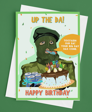 Up the Da Birthday Card