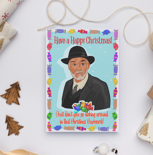 Granda Joe Derry Girls Christmas Card