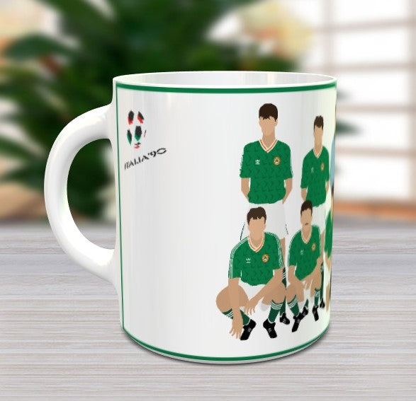 Republic of Ireland Italia 90 Mug