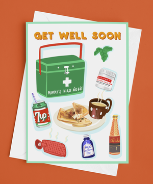 Irish Get Well Soon Card