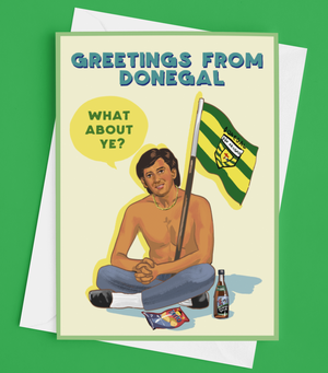 Daniel O'Donnell Donegal Greetings Card
