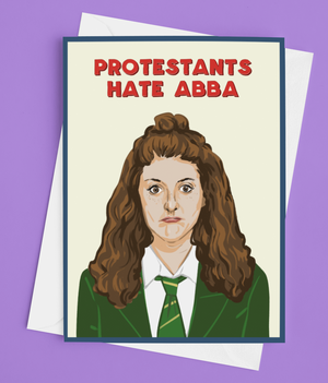 Derry Girls Orla Card