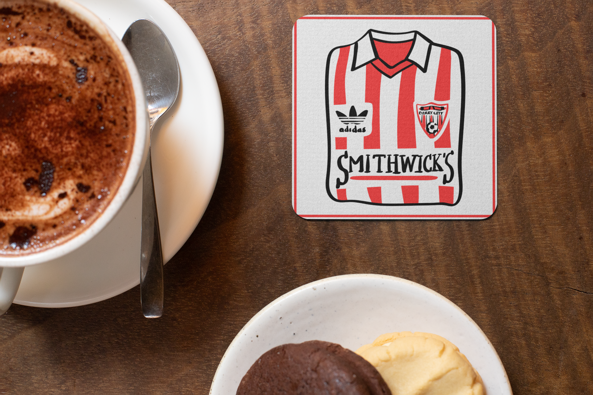 Derry City FC Historic Shirts Coasters