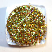 GOLDEN RAYS HOLOGRAPHIC GLITTER