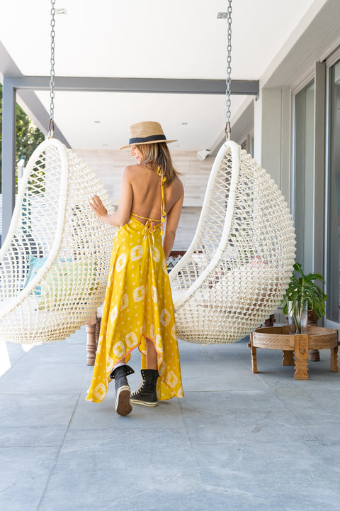 Yellow Love & Light Dress