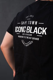 STAMP LOGO T BLACK