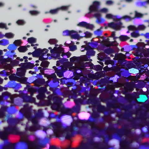 PURPLE RAIN HOLOGRAPHIC GLITTER