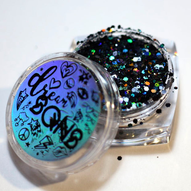 BLACK MAGIC HOLOGRAPHIC GLITTER