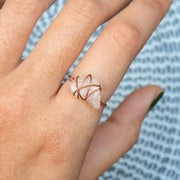 Stoner Ring - Rose Quartz