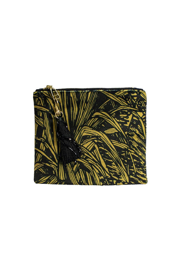 Aureum Jungle Black Cosmetic Pouch