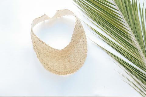 Palm Leaf Sun Visor