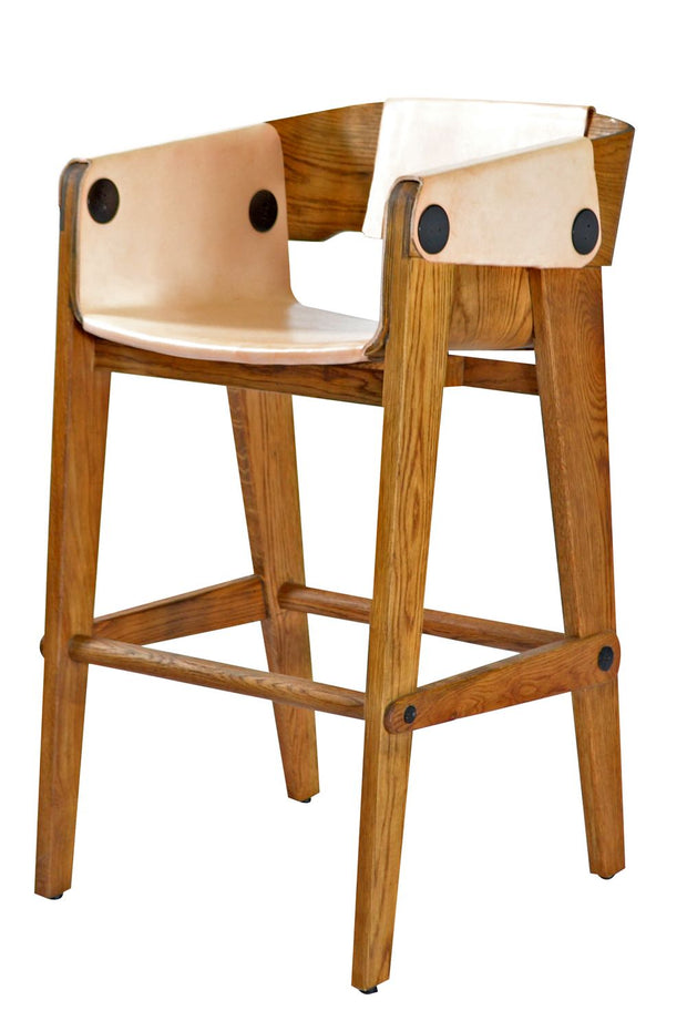 Nina Bentwood Bar Stool