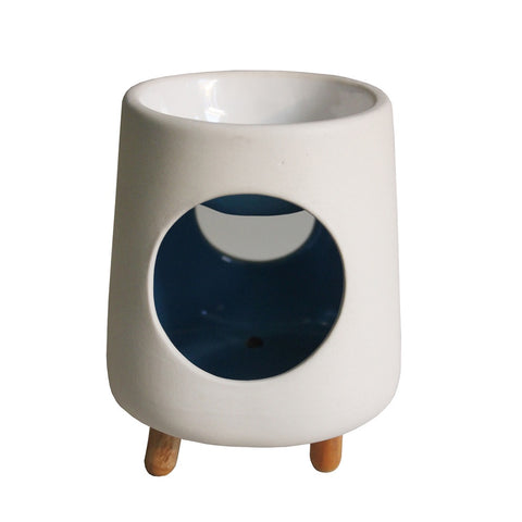 Blue Pyramid Ceramic Oil Burner