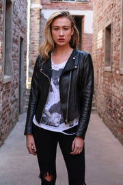Core Leather Jacket