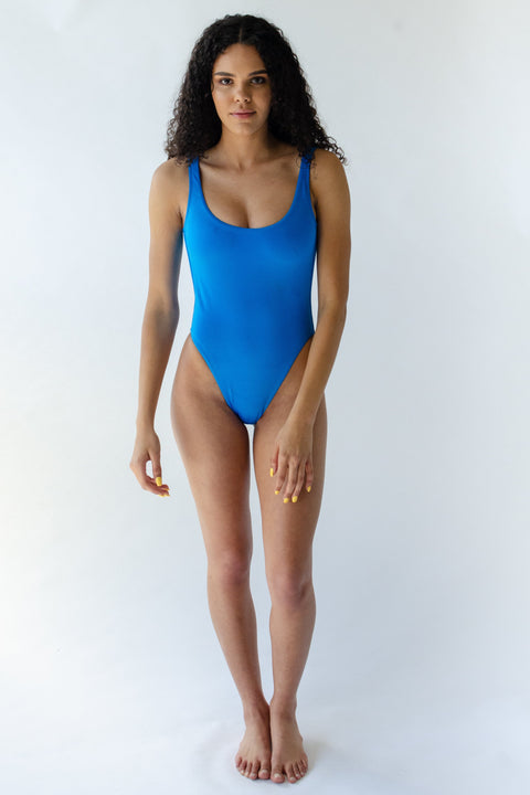 Aster swimsuit in Electric-Blu