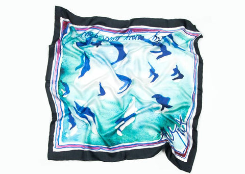 Fly Away Silk Scarf