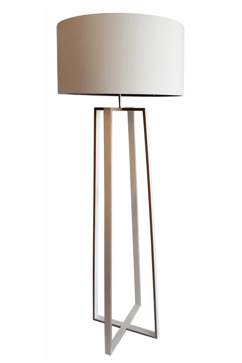 Rothschild Floor Lamp - Birch Ply White
