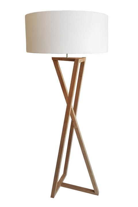 Yingyang Floor Lamp - Oak