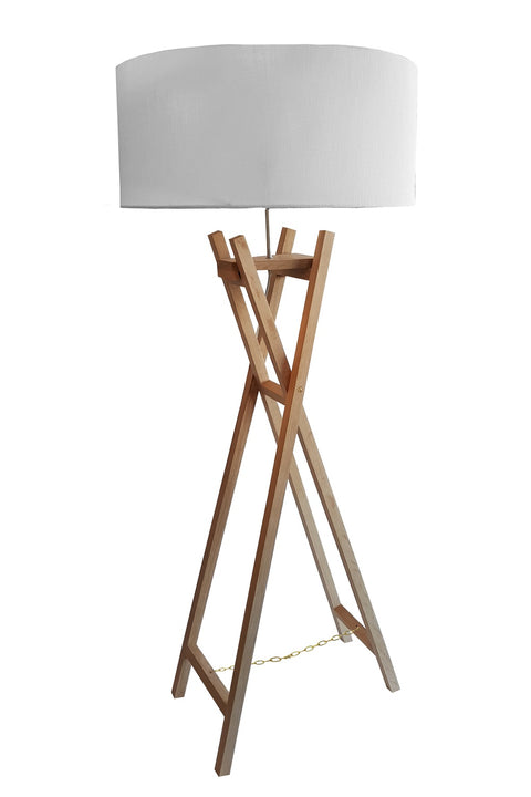 Easle Floor Lamp - Oak