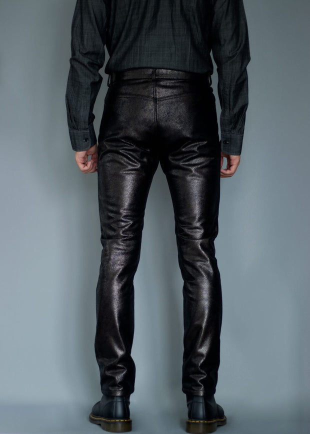 FAUX LEATHER TROUSERS II