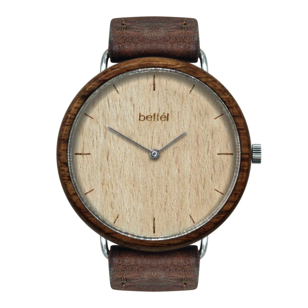 The Favourite Beech - Brown Strap