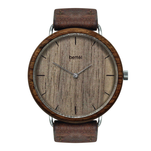 The Favourite Walnut - Brown Strap