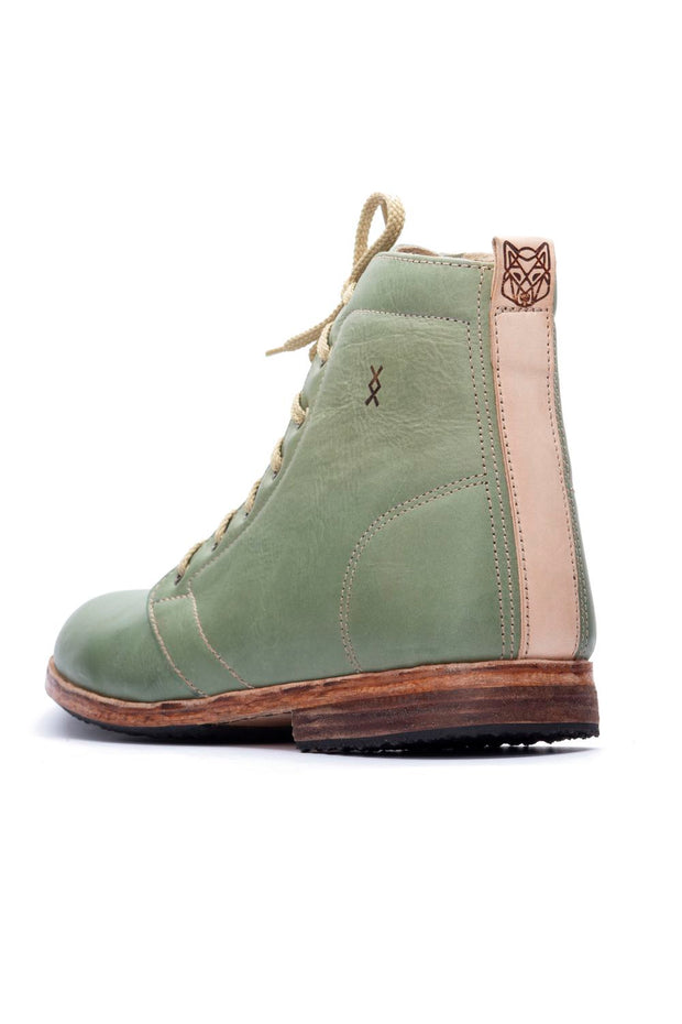 GREEN HIGHTOP SHOES