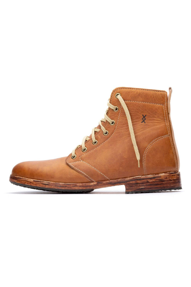 TOFFEE HIGHTOP SHOES