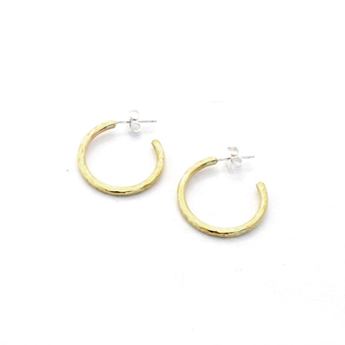 Hoop Earrings (Hammered)