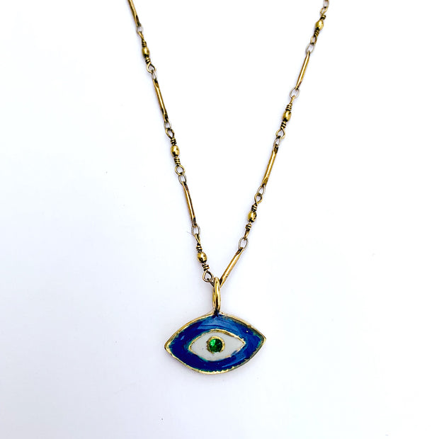The Protective Evil Eye Chain Necklace