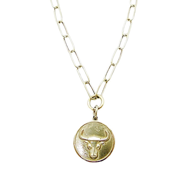 The Lucky Bull Necklace