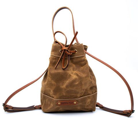 The Amelia Bucket Bag - Bushveld Tan