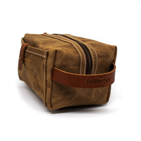 The Dopp Kit - Bushveld Tan
