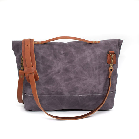The Satchel - Ash Blue