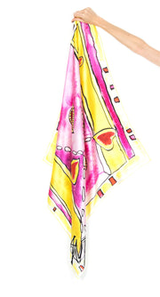 In Passion Silk Scarf
