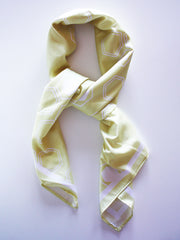 Honey Bee Silk scarf