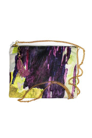 Lucy Jane Turpin Plum & Forest Clutch