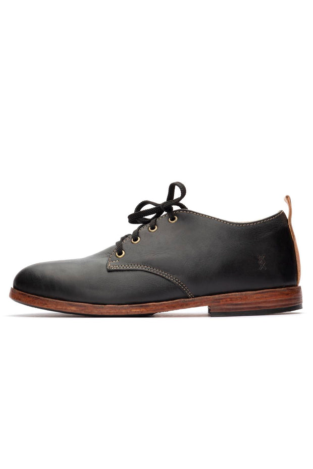 BLACK LOWTOP SHOES