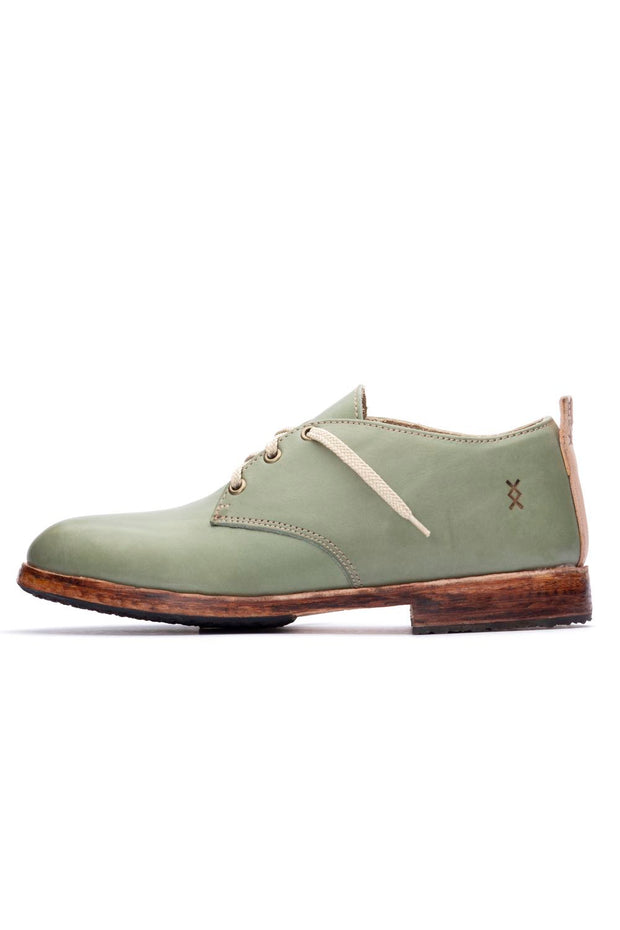 GREEN LOWTOP SHOES