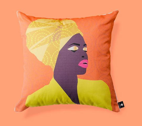 Mama Africa Scatter Pillow Cover