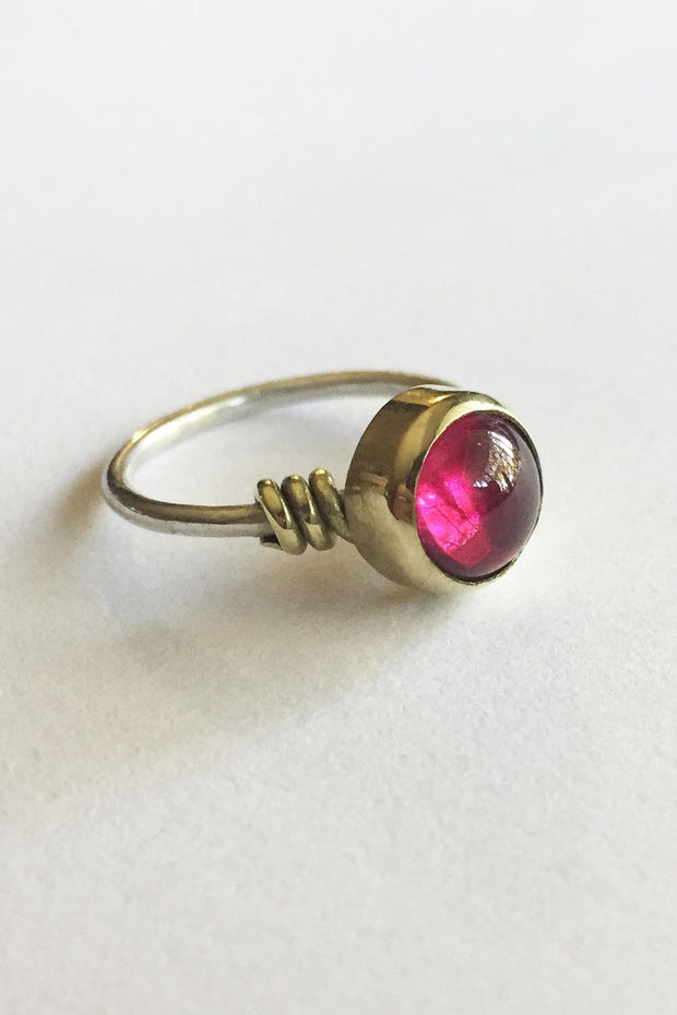 Cheri Ring with Red Carnelium