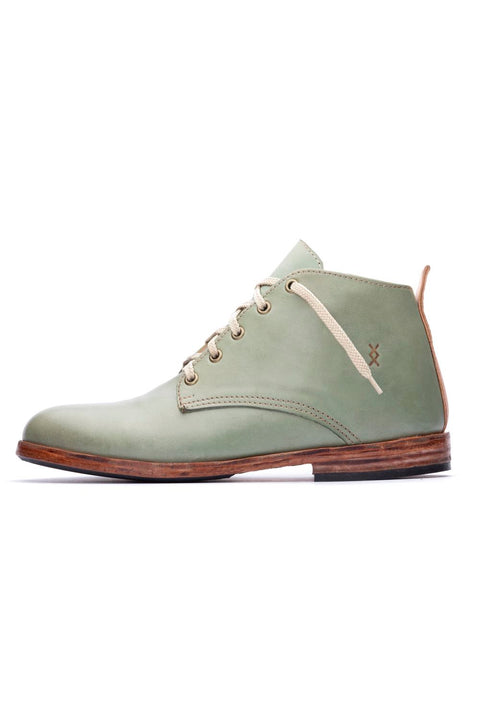GREEN MIDTOP SHOES