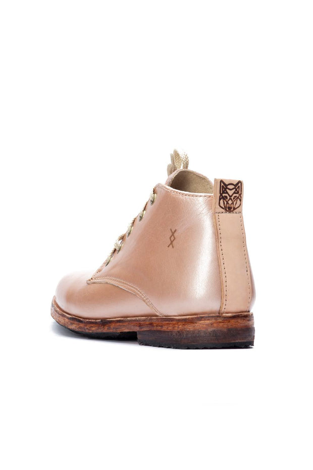 ROSE GOLD MIDTOP SHOES