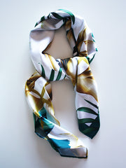 Floral Summer Breeze Silk scarf