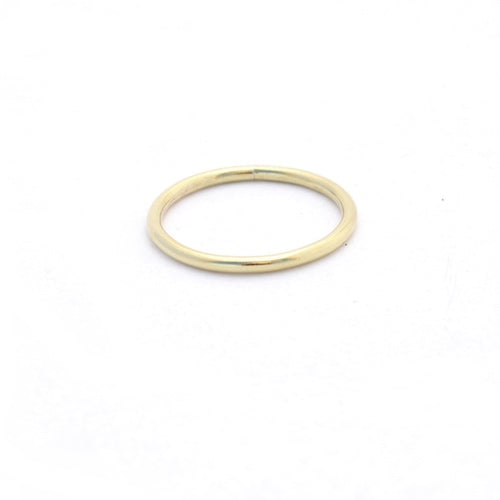 Round Brass Stack Ring